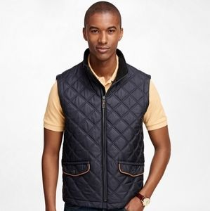 Brooks Brothers Diamond Quilted Vest